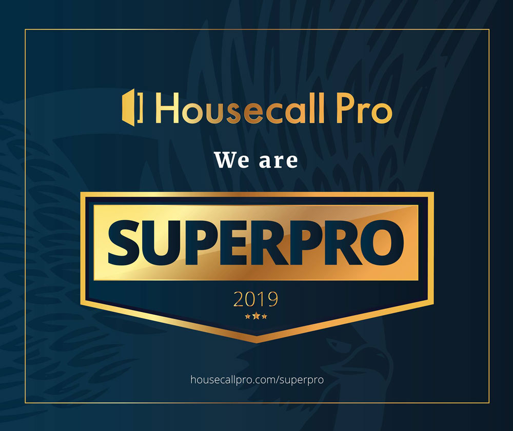 housecall pro super pro award