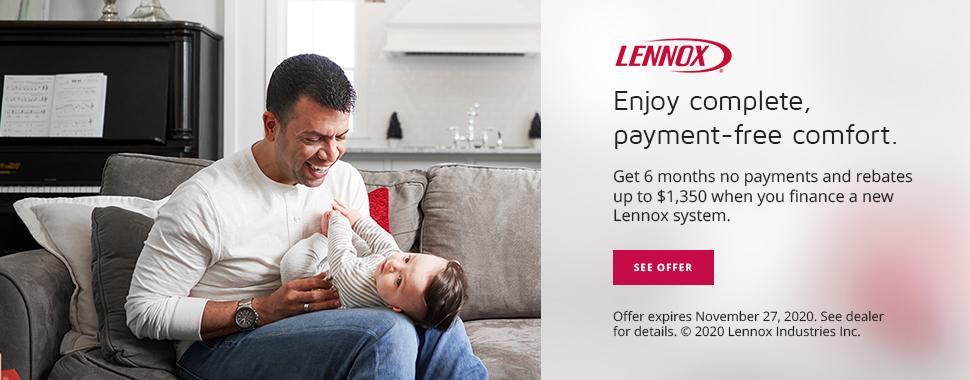 lennox rebates